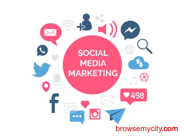 Social Media Marketing - Social Media Marketing that promises maximum reach. - 1/1