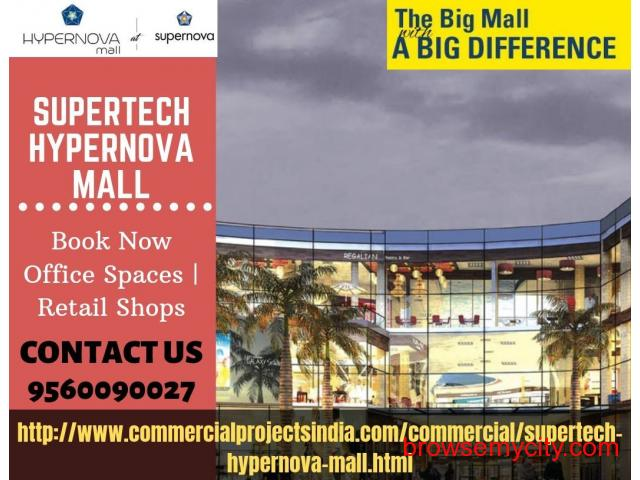 Hypernova Mall retail shops | office spaces - 1/1
