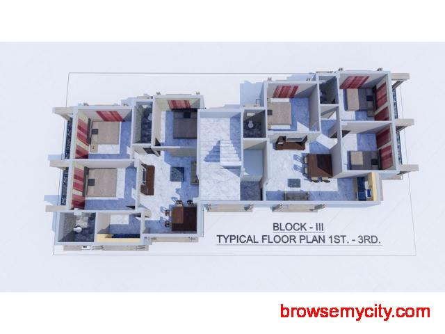 3 BHK Flats in West Bengal - 2/2