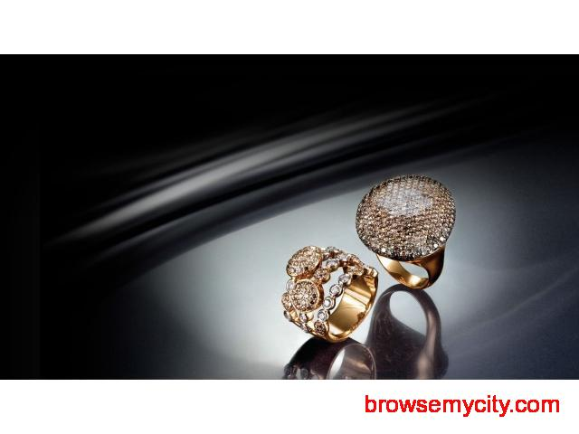 Diamond Ring for Womens : Buy 900+ diamond ring for womens online @best price - 1/1