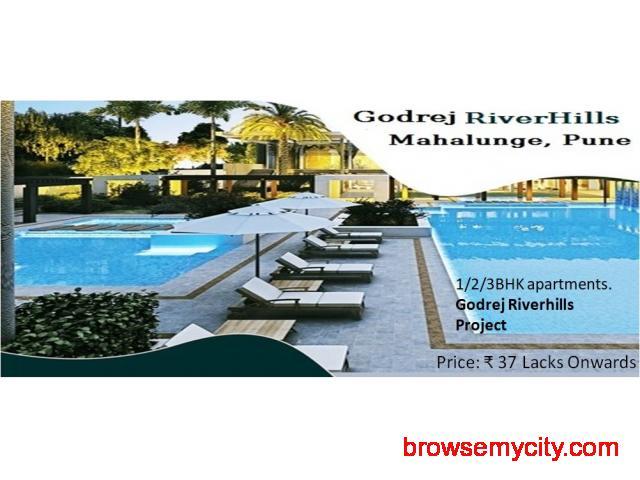 ComingSoon-1/2/3BHK Apartments in Godrej Riverhills Pune - 1/1