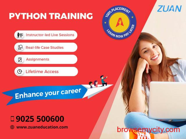Python training course in Chennai. - 1/1