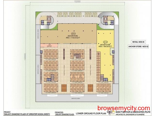 Galaxy Diamond Plaza Commercial Spaces - 2/3