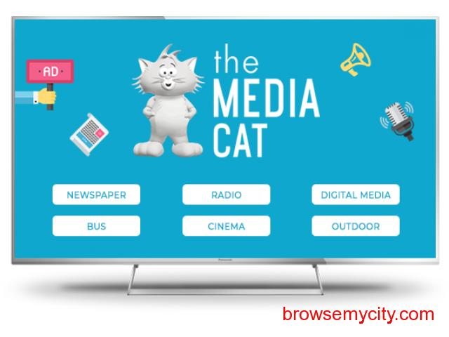 Book your Ads through ThemediaCat - 1/2