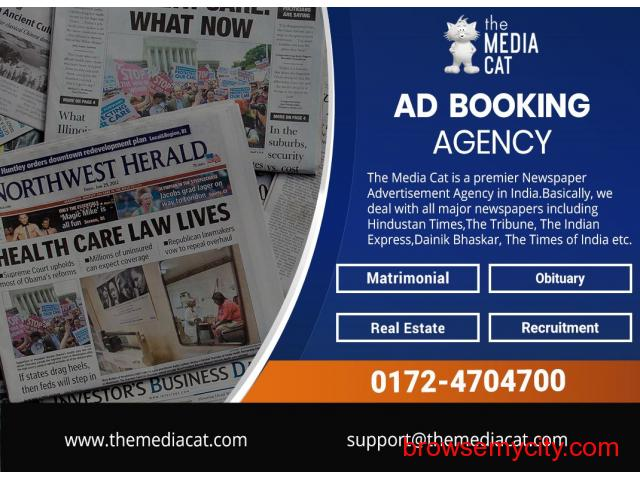 Book your Ads through ThemediaCat - 2/2