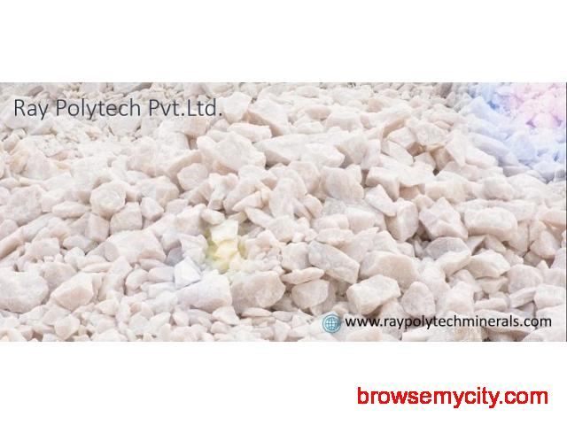 Manufacturer of Quartz Lumps in India Ray Polytech Pvt Ltd - 1/1