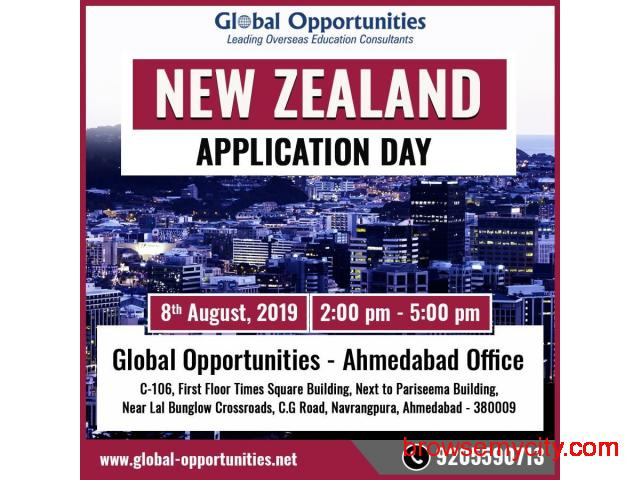 Attend New Zealand Application Day 2019 in Ahmedabad - 1/2