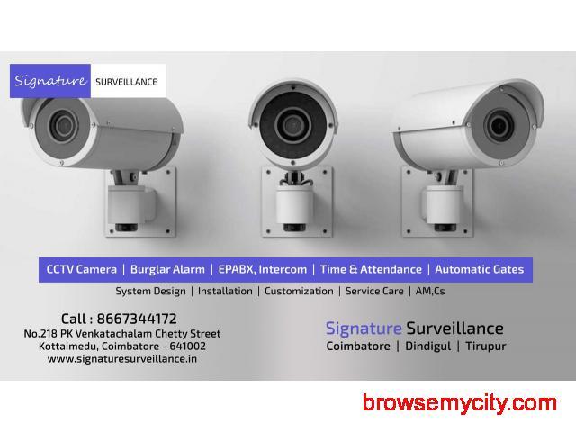Signature-CCTV Installation Tirupur-Top CCTV Companies in Tirupur - 1/1