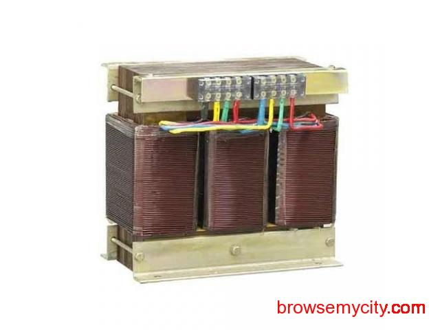 Three Phase Isolation Transformers Manufacturers and Suppliers in Hyderabad, Vijayawada – Deltek - 1/1