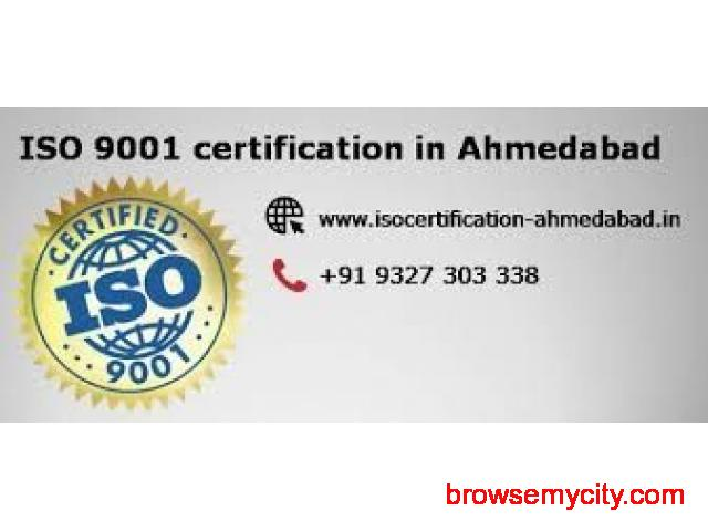Consultancy service for ISO 9001 certification in Ahmedabad - 1/1