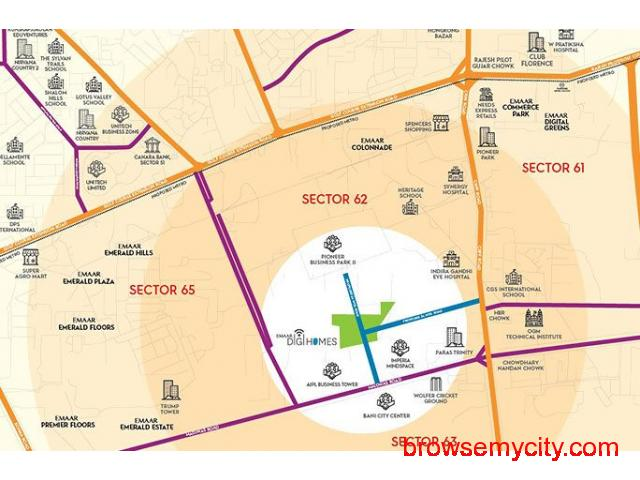 Emaar Digi Homes Residential Apartment In Golf Course Extension Road - 6/6
