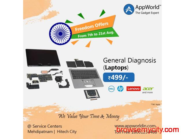 General Diagnosis Of Laptops @ Rs.499/- | AppWorld - 1/1