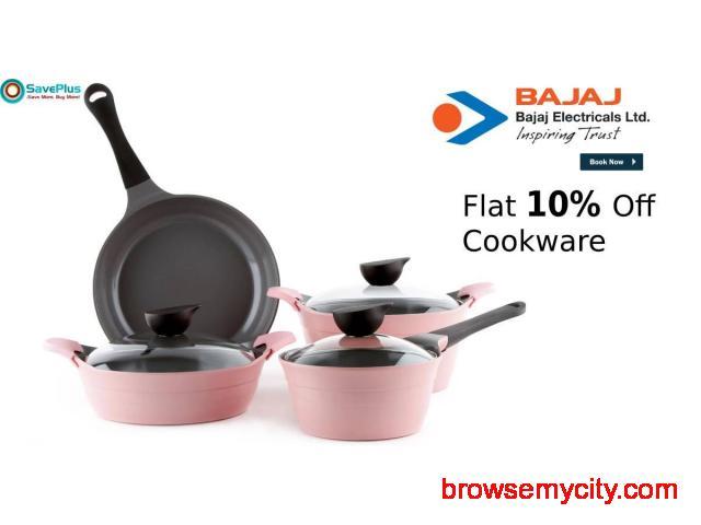 Flat 10% Off Cookware,Flat 10% Off Cookware - 1/1