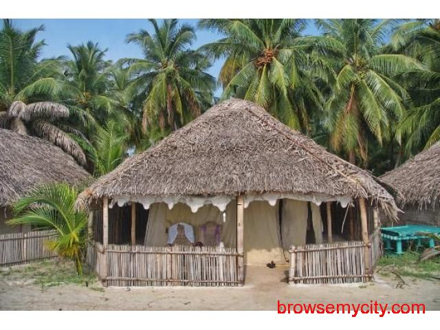 Get Bangaram Tent Houses in,Bangaram with Class Accommodation. - 1/3