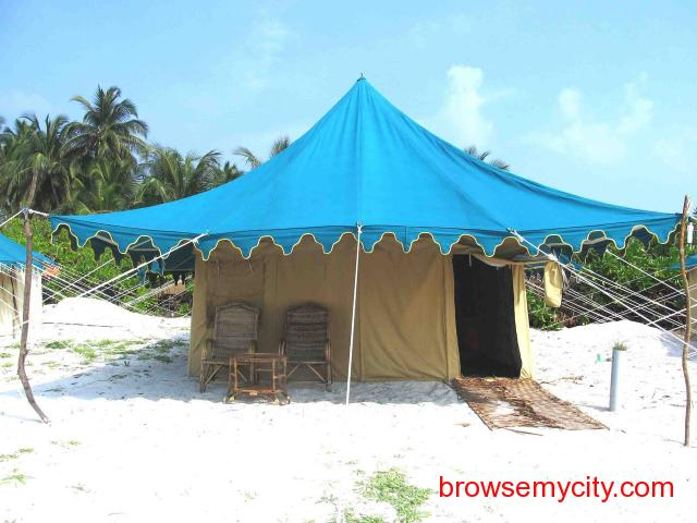 Get Bangaram Tent Houses in,Bangaram with Class Accommodation. - 3/3
