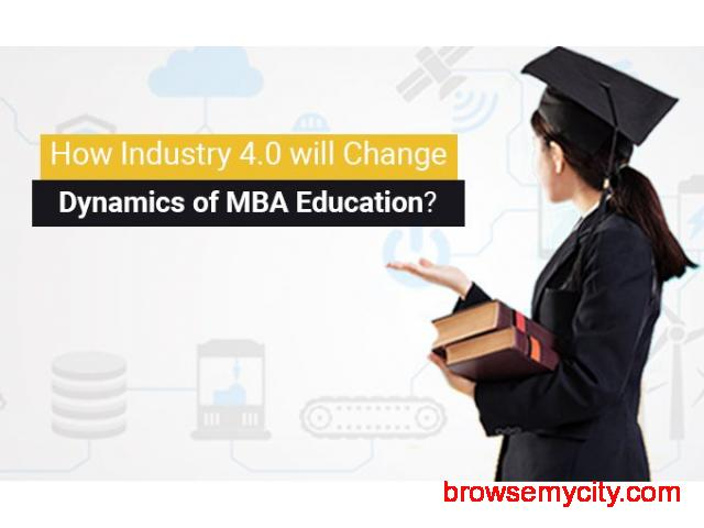 How Industry 4.0 will Change Dynamics of MBA Education. - 1/1