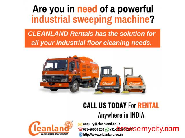 Industrial Sweeping Machine on RENT - 1/4