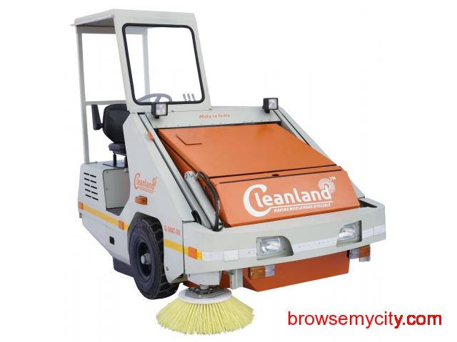 Industrial Sweeping Machine on RENT - 4/4