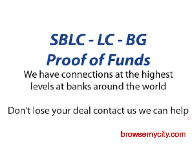 FRESH CUT BG/SBLC LEASE & PURCHASE - PROVIDER MOVES FIRST - 1/2