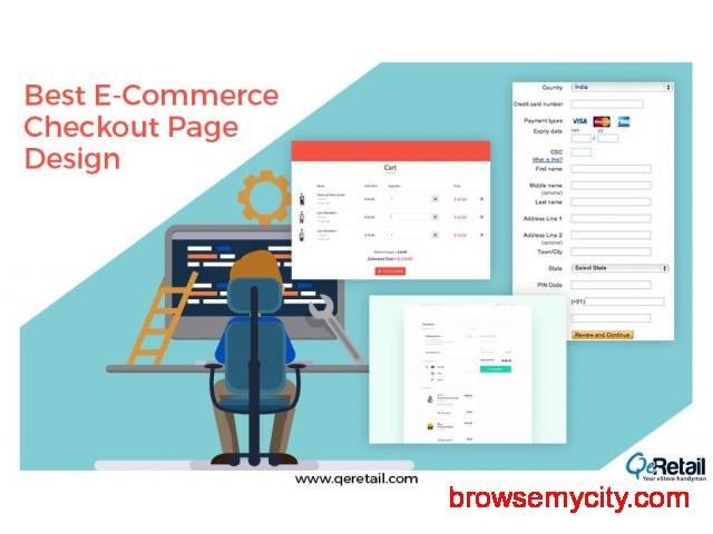 Custom eCommerce Web Design Services Available at QeRetail - 1/3