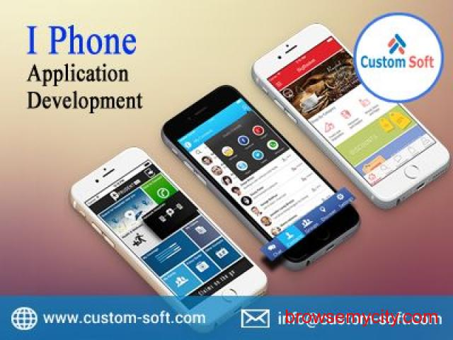 I-Phone Application developed by CustomSoft - 1/1