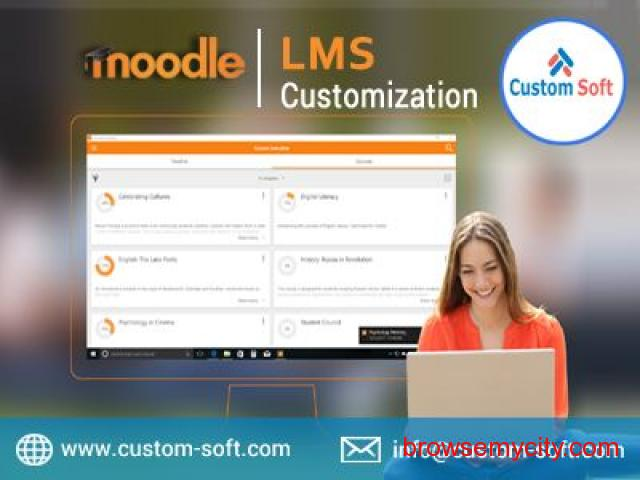 Moodle LMS Customization India by CustomSoft - 1/1