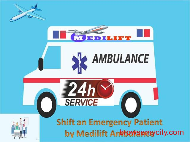 Book Full Medical Support Road Ambulance Service in Delhi - 1/1