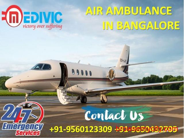 Select Nonpareil Healthcare Air Ambulance Services in Bangalore by Medivic - 1/1