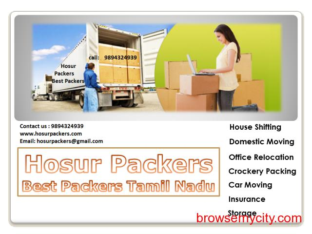Best Hosur Packers and Movers 9894324939 - 3/3