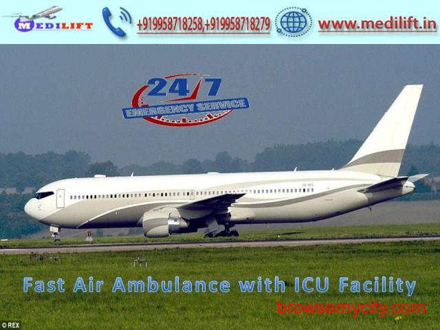Choose a World-Class Air Ambulance Service in Mumbai at Low Fare - 1/1