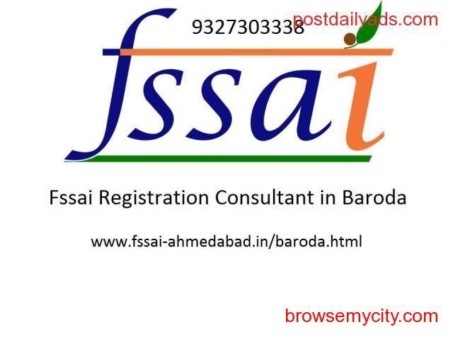 FSSAI registration consultancy service in Baroda - 1/1