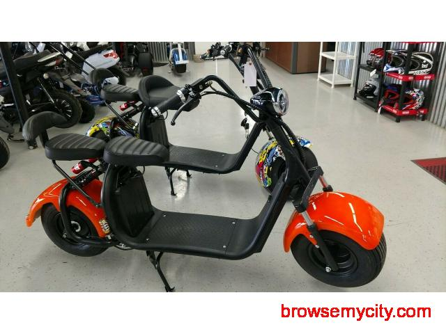 High quality, powerful, durable, affordable, and fast Citycoco electric scooter - 1/2