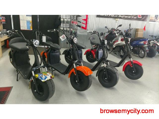 High quality, powerful, durable, affordable, and fast Citycoco electric scooter - 2/2