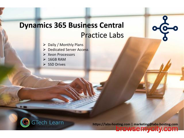 Dynamics 365 Business Central - Practice Instance - 1/1