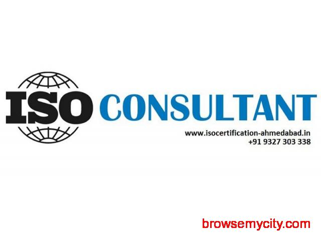 ISO consultant Ahmedabad - 1/1