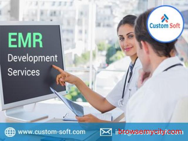 EMR Development Services in India by CustomSoft - 1/1