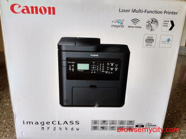 Canon Laser Multi-Function Printer in excellent condition on sale. - 2/6