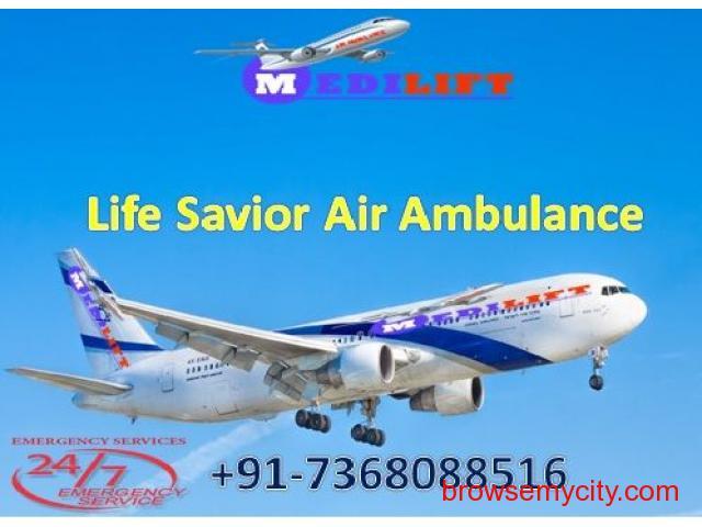 Very Low-Cost ICU Emergency Air Ambulance Service in Kolkata - 1/1