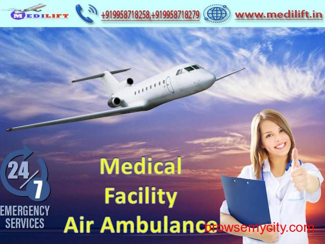 Take Masterly Air Ambulance Service in Allahabad with MBBS Doctor - 1/1