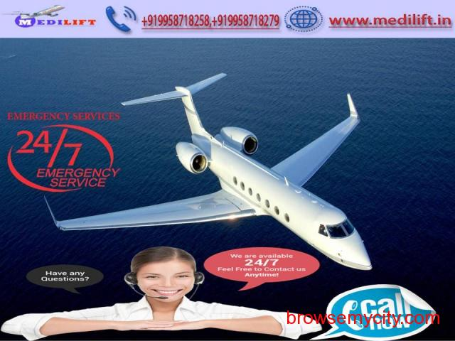 Hire Classy Medical Facility Air Ambulance Service in Jamshedpur - 1/1