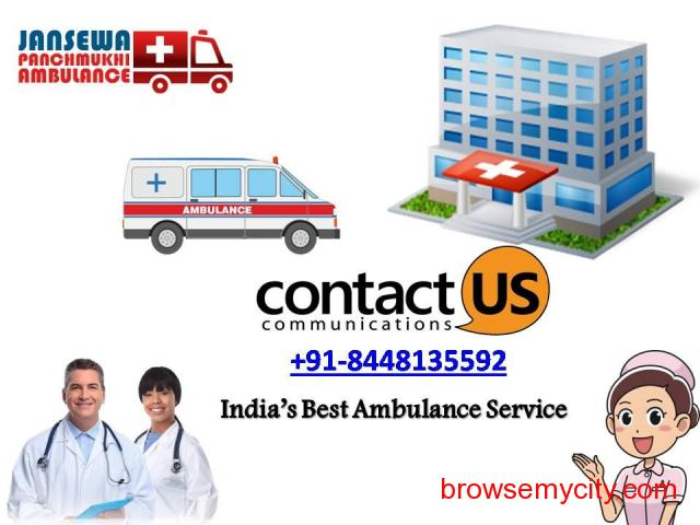 Avail Ground Ambulance service in Kapashera at Budget-Friendly Cost - 1/1