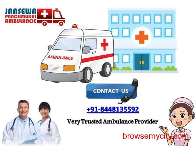 Take ICU Setups Road Ambulance from Janakpuri for Your Serious Patient - 1/1