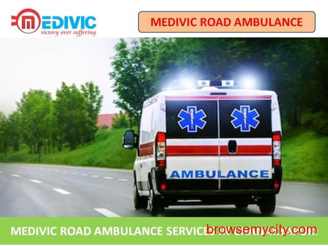 Best Emergency Road Ambulance Service in Chanakayapuri - Medivic Aviation - 1/1