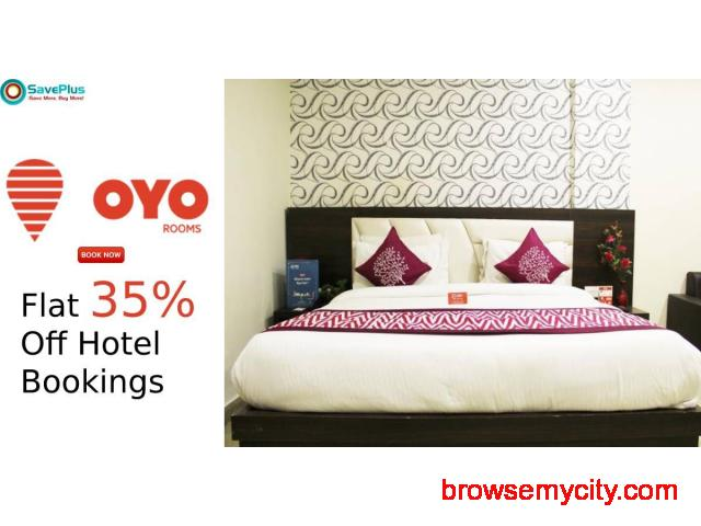 Flat 35% Off Hotel Bookings - 1/1