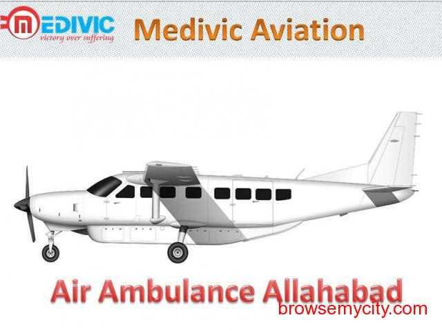 Medivic Aviation Air Ambulance Service in Allahabad at Low Cost - 1/1