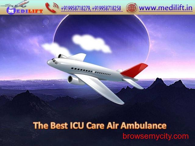 Full ICU Setups Air Ambulance Service in Delhi by Medilift - 1/1