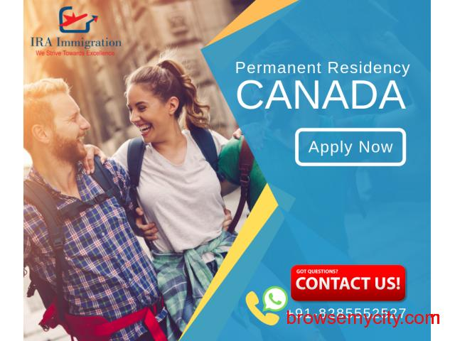 Consult with IRA Immigration Consultants for Canada PR visa. - 1/1