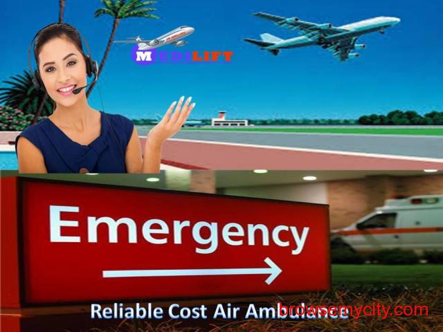 The Best Medical Support Air Ambulance Service in Ranchi - 1/1