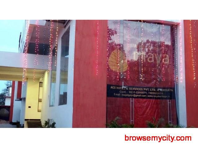 Get Maya Heritage in,BodhGaya with Class Accommodation. - 1/4