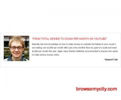 If you want to make money with YouTube